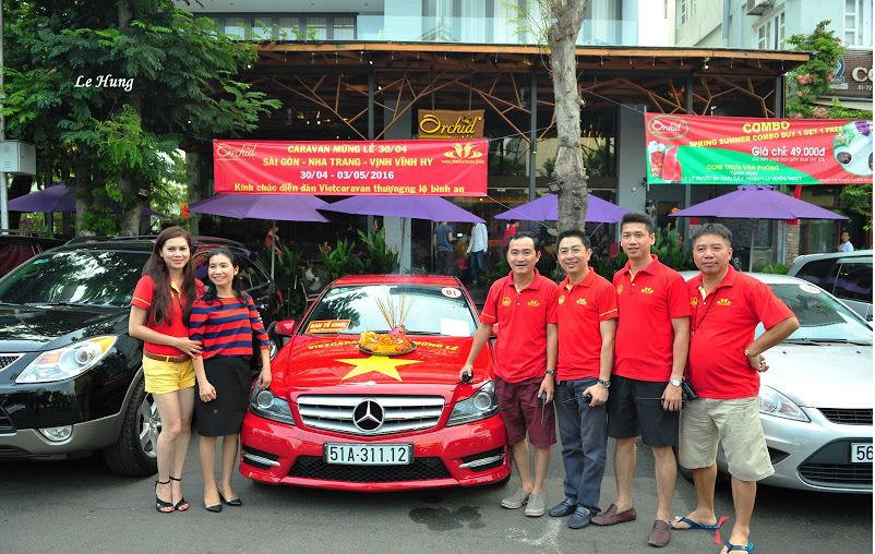 Hình ảnh Caravan mừng lễ 30/4: Sài Gòn-Nha Trang-Vịnh Vĩnh Hy