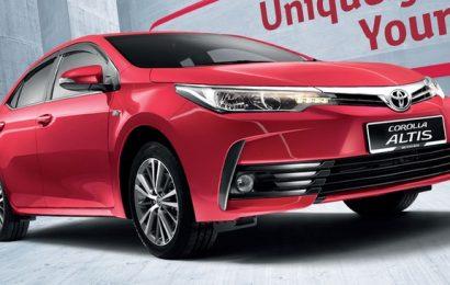 Toyota Corolla Altis 2017 thêm trang bị, chốt giá 628 triệu đồng tại Malaysia