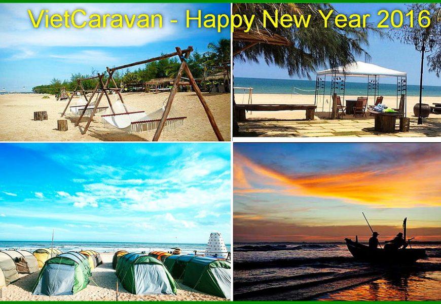 Video clip Mừng Năm Mới 2016 của Vietcaravan