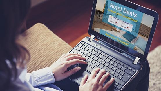 Đặt khách sạn qua mạng thông minh