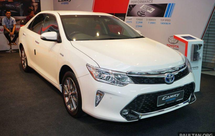 Toyota Camry tung bản nâng cấp tại thị trường Malaysia – Thêm tiện ích, giá không đổi