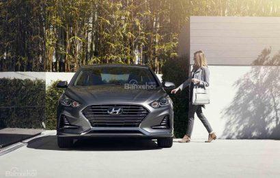 Đánh giá xe Hyundai Sonata 2018: Sở hữu hàng loạt thay đổi mới