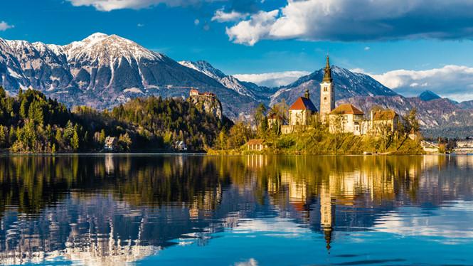 Tuyệt tác hồ Bled đẹp như mặt gương