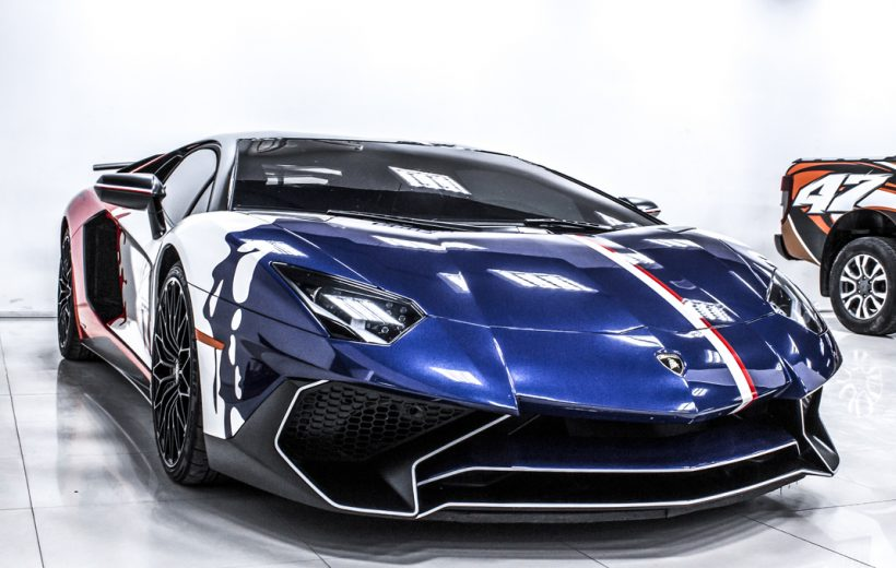 'Ngắm' Lamborghini Aventador SV 'thay áo' giá 45 triệu đồng tại Việt Nam