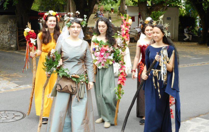 Chiêm ngưỡng lễ hội Provin như lạc về thời Trung cổ