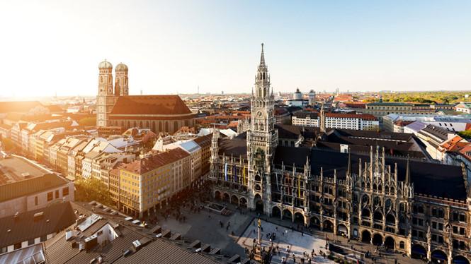 Ngắm các công trình vĩ đại và cổ kính của Munich