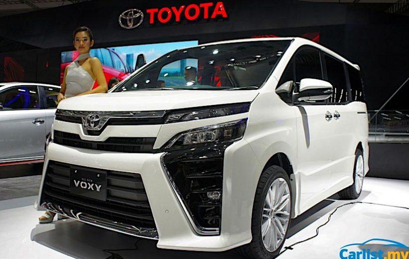 Toyota Voxy 2017 bán ra tại Indonesia với giá từ 782 triệu đồng