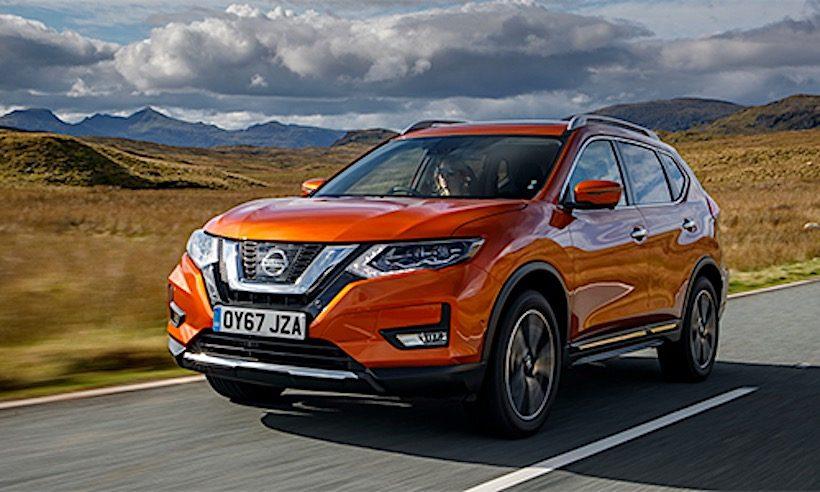 Nissan X-Trail 2018 được bán ra với giá từ 730 triệu đồng