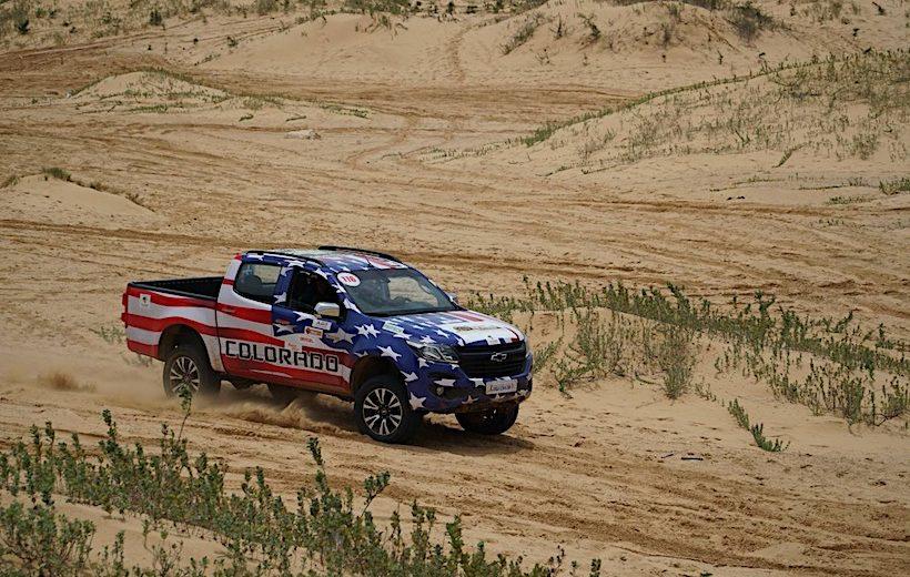 Chevrolet Colorado vô địch tại Giải đua xe thể thao địa hình Ninh Thuận 2017