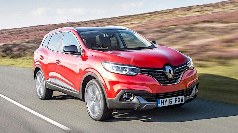 Renault Kadjar 2018 ra mắt với giá bán từ 607 triệu đồng