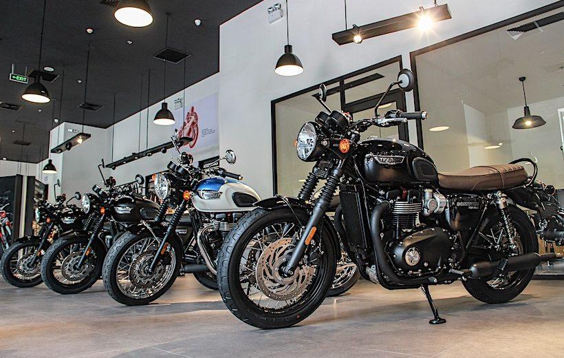 Triumph chính thức ra mắt showroom tại Việt Nam