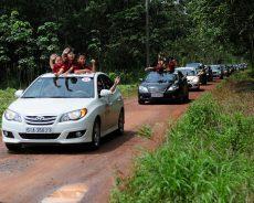 Đoàn xe caravan 105 chiếc xác lập kỉ lục Việt Nam