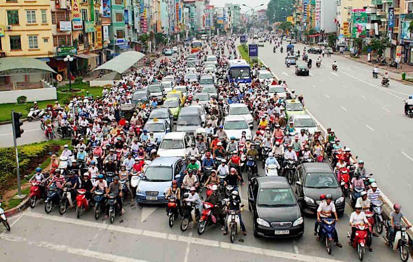 Người Nhật nghĩ gì về giao thông tại Việt Nam?