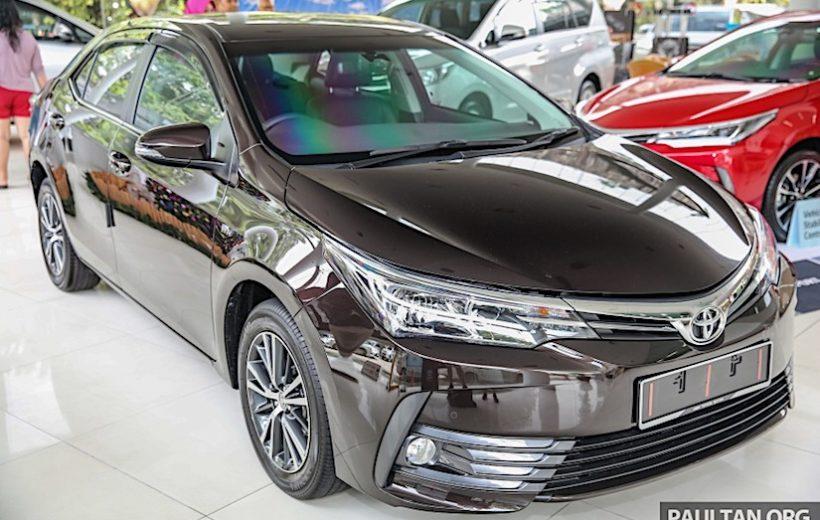Toyota giới thiệu nhiều gói trạng bị mới dành cho Corolla Altis