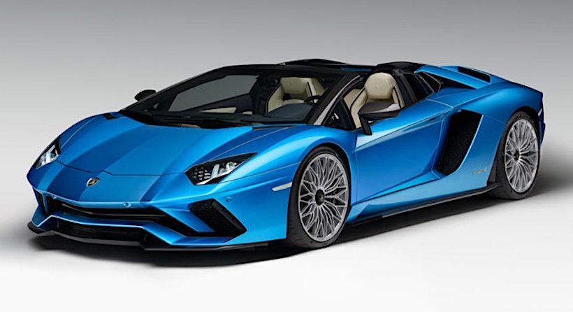 Tuyệt phẩm mui trần Lamborghini Aventador S Roadster chính thức lộ diện, giá từ 460.247 USD