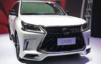 LEXUS LX570 SUPERIOR ra mắt với giá 5 tỷ đồng tại Trung Quốc