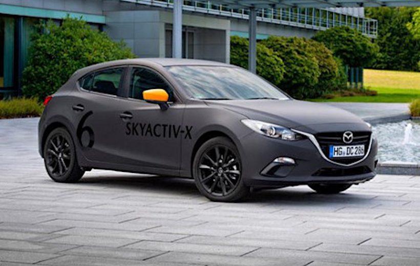 Mazda3 2019 trang bị động cơ mới chạy thử nghiệm