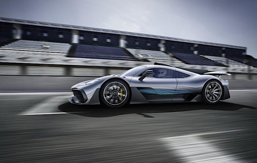 Project ONE Hypercar của Mercedes AMG được hé lộ giá hơn 61 tỷ đồng