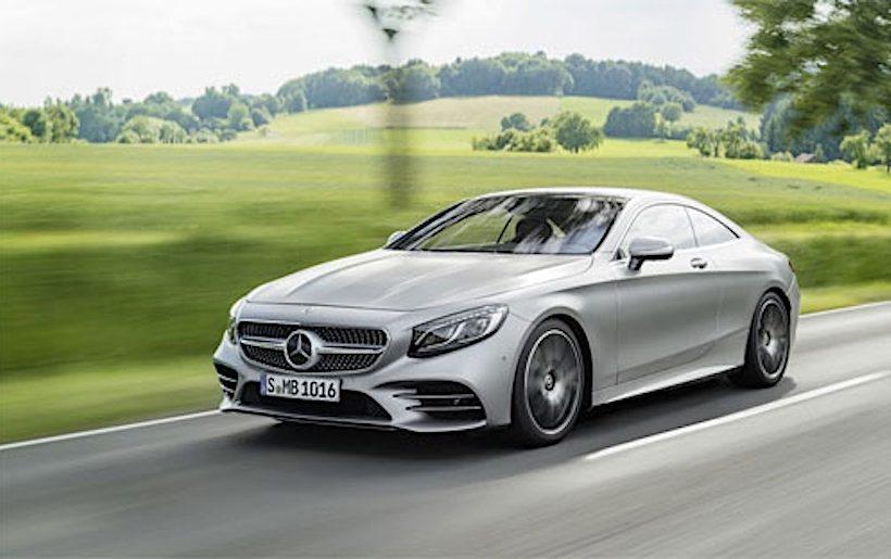 thế hệ S-Class couple 2018 mạnh mẽ hơn vừa được Mercedes giới thiệu