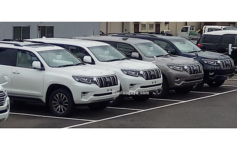 """Xem """"ảnh sống"""" Toyota Land Cruiser Prado 2018"""
