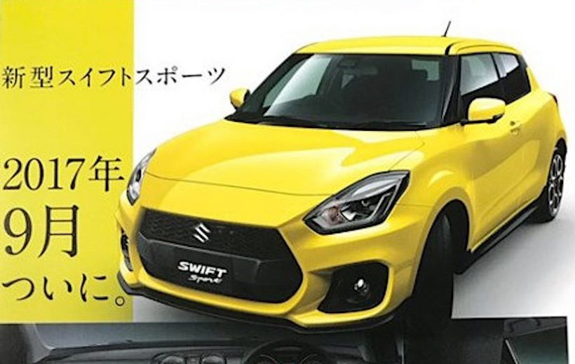 Suzuki Swift Sport 2018 có giá bán từ 379,2 triệu đồng.