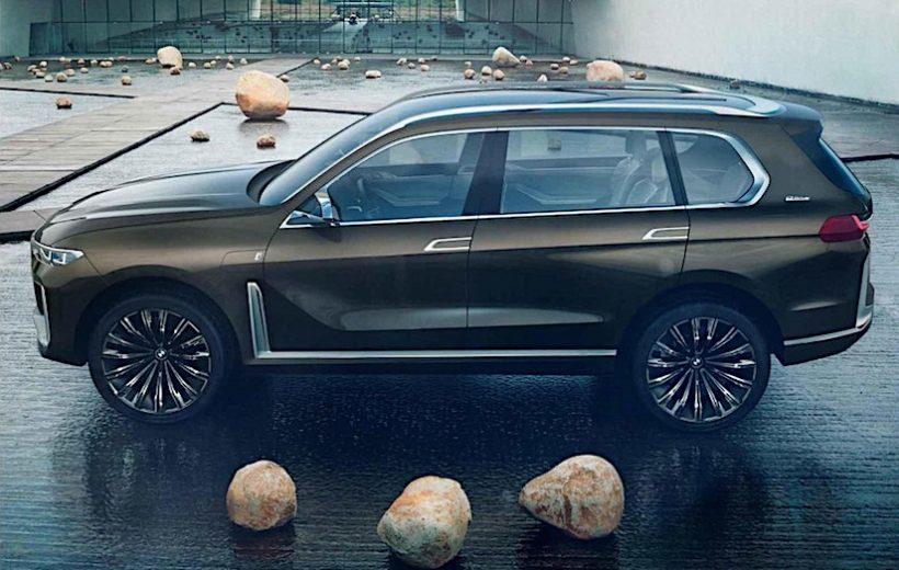 BMW X7 i-Performance Concept – Lộ diện những hình ảnh đầu tiên