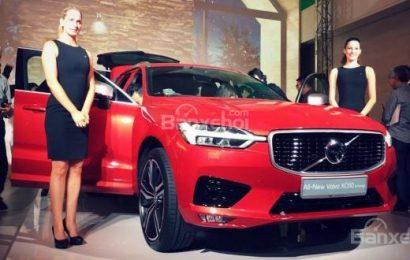 Volvo XC60 thế hệ thứ hai ra mắt tại Singapore với mức từ 3,8 tỷ đồng