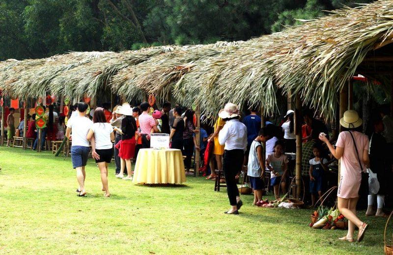 Ấn tượng không gian nghệ thuật phục vụ du khách tại Flamingo Đại Lải Resort