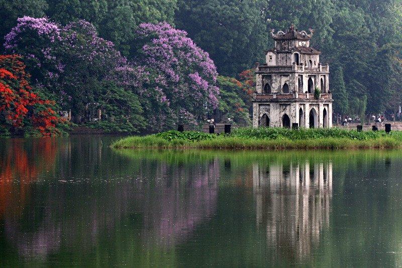 Những điểm cầu may đầu năm mới quanh Hà Nội