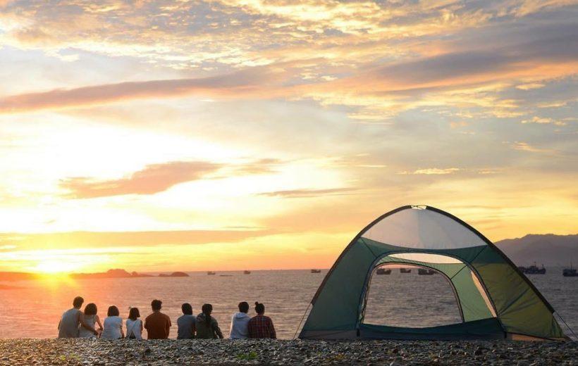 6 điểm cắm trại bờ biển khiến giới trẻ phát cuồng