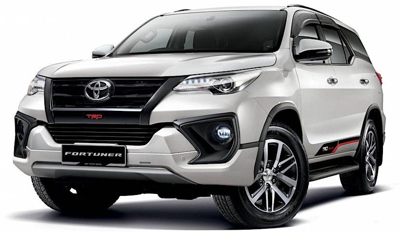 Toyota Fortuner vừa ra mắt bản nâng cấp với giá bán 999 triệu đồng