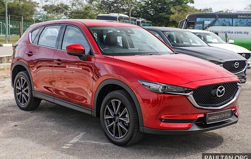 Mazda CX-5 2017 chính thức ra mắt thị trường Malaysia