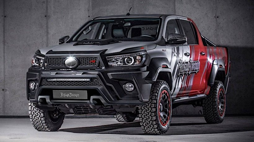Toyota Hilux hầm hố với gói độ Carlex Design