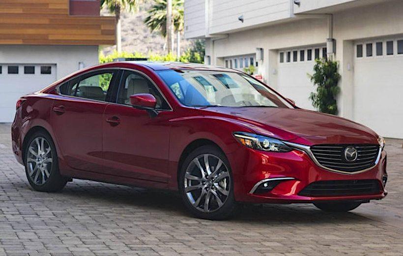 Mazda 6 phiên bản 2017.5 ra mắt
