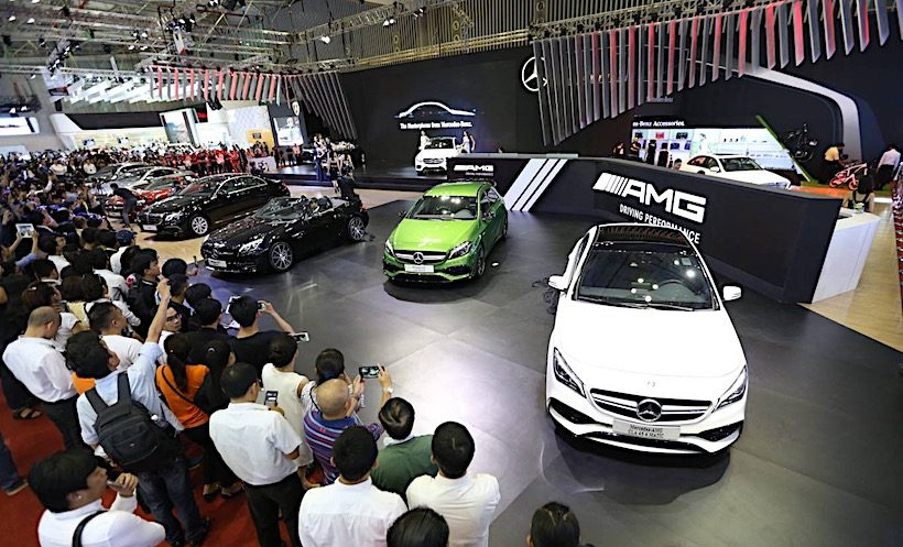 Mercedes-Benz Việt Nam ưu đãi cho khách hàng trong tháng 10/2017