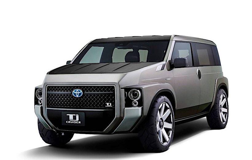 Mẫu xe Van- Offroad: TJ Cruiser Concept đến từ Toyota