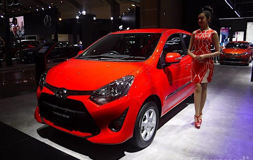 Toyota Wigo 2017 chuẩn bị bán ra tại Việt Nam
