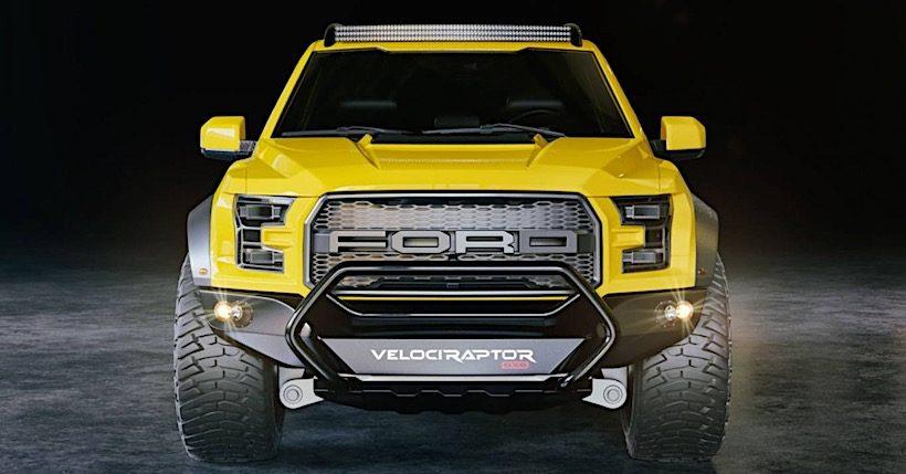 Xe bán tải cỡ lớn VelociRaptor 6×6 sẽ được ra mắt tại SEMA