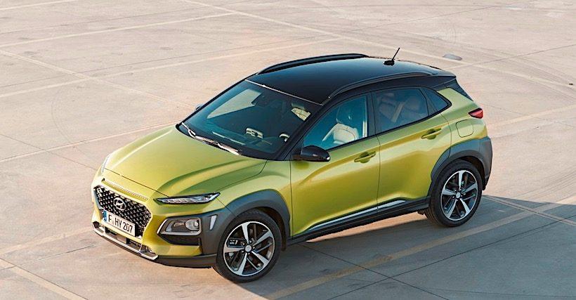 Hyundai Kona có ngoại hình độc đáo với giá bán từ 485 triệu đồng