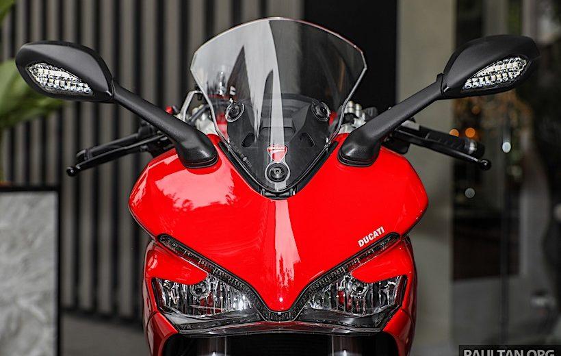 Ducati SuperSport 2017 có giá từ 435 triệu đồng tại Malaysia