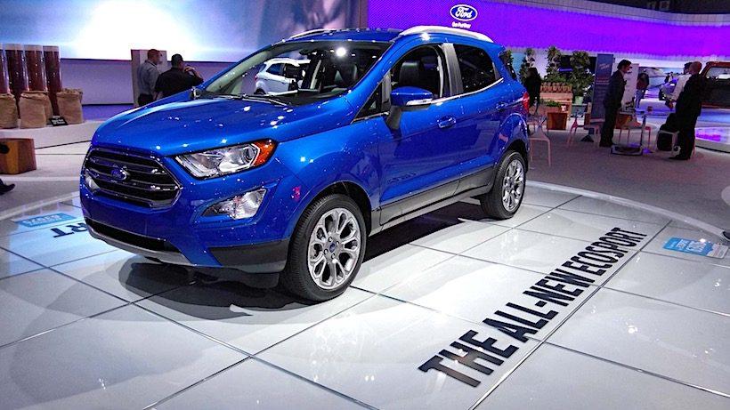 Phiên bản nâng cấp của Ford EcoSport 2018 vừa được ra mắt tại Mỹ