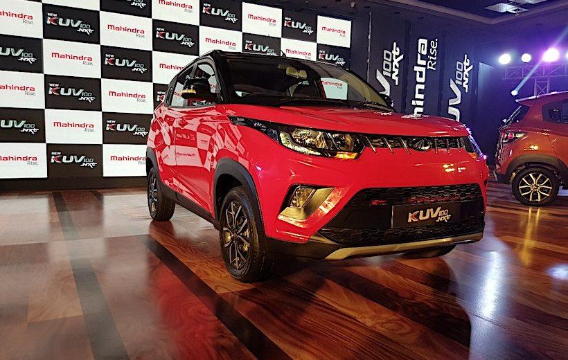 Xe SUV siêu nhỏ Mahindra KUV100 NXT vừa được ra mắt