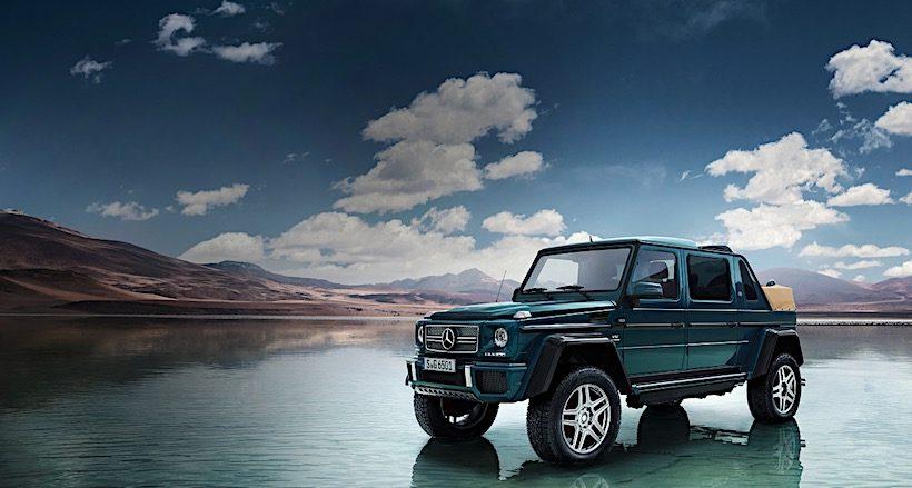Mercedes-Maybach G 650 Landaulet chốt giá bán 32 tỷ đồng