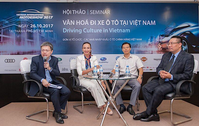 """VIMS 2017 – Hội thảo """"Văn hoá lái xe tại Việt Nam"""""""