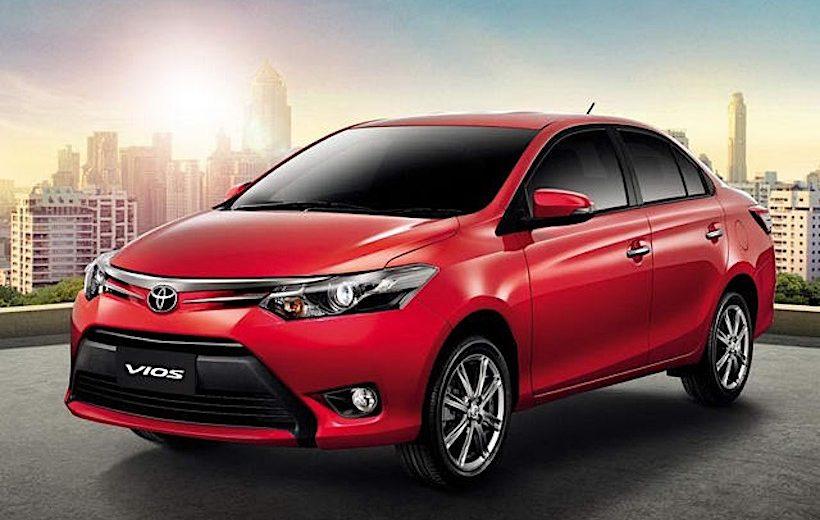 Giá bán Toyota Vios giảm 75 triệu đồng
