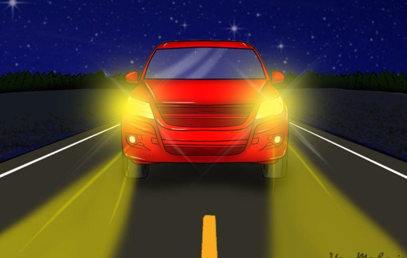 Chia sẽ kỹ năng cần thiết lái ô tô ban đêm trên cao tốc