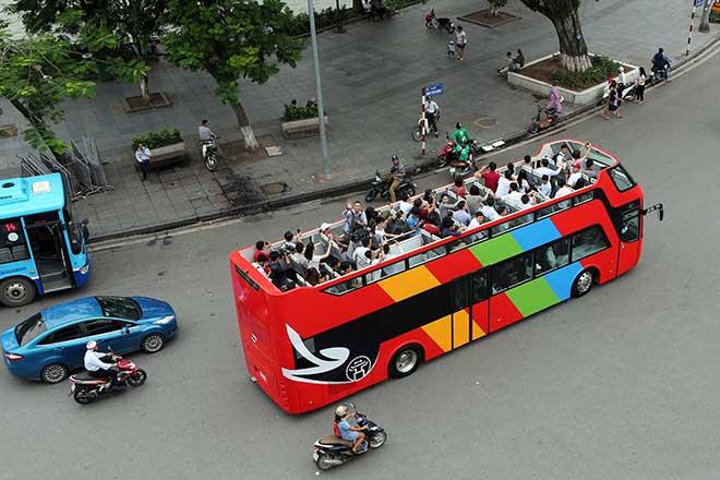 Thống nhất lộ trình tuyến xe 2 tầng City Tour phục vụ du lịch Thủ đô