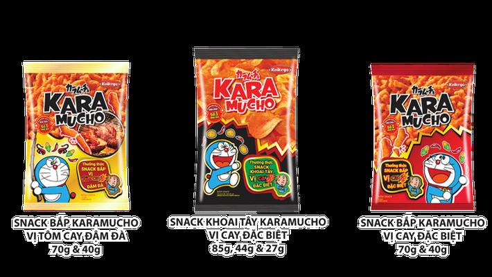 Bánh snack Karamucho đạt doanh số cao sau một tháng ra mắt