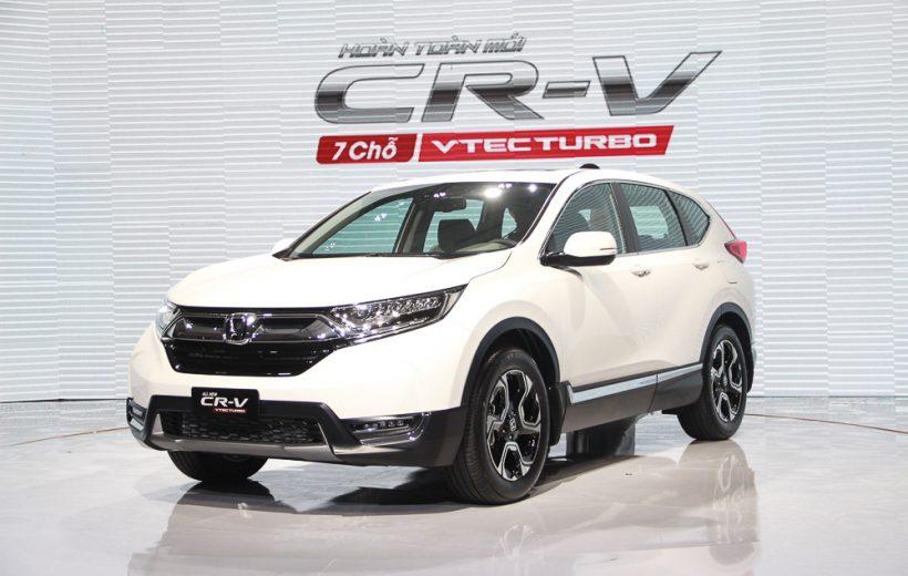 Honda CR-V 2018 giá 1,1 tỷ đồng ra mắt tại Việt Nam