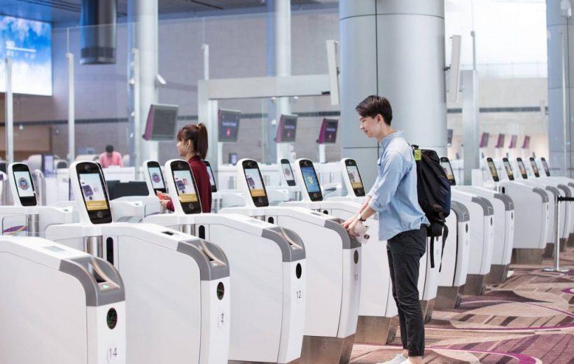 Terminal 4-Changi Airport  Của VNA Hoàn Toàn Tự Động